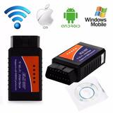 Escaner Automotriz Elm327 Wifi Obd2 Iphone Ipad Android