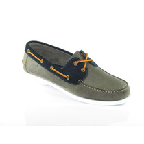 Zapato Nautico Timberland Cuero Clasico Acordonado Liquido!
