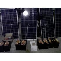 Ahorro Real Kit Solar Fotovoltaico 750 Watt/dia Flete Gratis