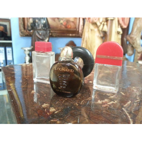 Frasco De Perfume Antiguo Pequeño Decorativo Precio X C/u