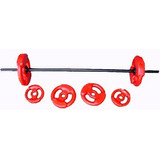Equipo Body Pump 17 Kg Musculación Oficial Barra + Discos