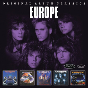 Europe Original Album Classics Box Con 5 Cd Nuevos Import