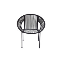 Banco Metal Plastic Chair , Brown