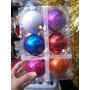 Esferas Navideñas De 6cm X 6unidades - A Sólo $40!!!