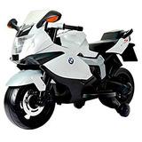 Juguete Juguetes Brc 12v Bmw Monte En La Motocicleta, Blanc