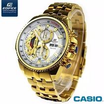Relógio Cassio Edifice Efr-558 Red Bull Original Completo