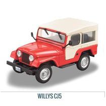 Colección Jeep Willys Cj-5 1954 -1983 1/43 Ixo