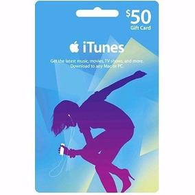 Cartão Itunes Gift Card $50 Dólares - Contas Americanas