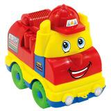 Brinquedo Desmontavel Caminhao Lego Bebe Bombeiros Educativo