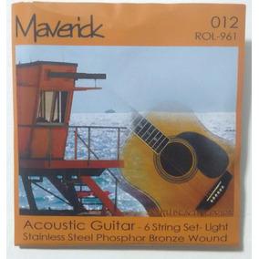 Cuerdas Para Guitarra Acústicas Y Electroacústicas Maverick
