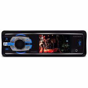 Dvd Positron Sp4330 Bt Bluetooth Tela 3 Widescreen Carro Usb