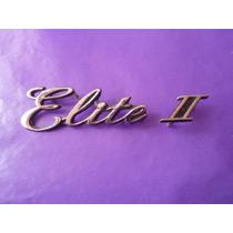 Emblema Elite 2 Fairmont Ford Cajuela