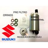 Bomba Combustível+regulador Pressão Suzuki Bandit 650n 650s