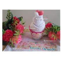 40 Toalhas Personalizada Cupcake Dia Das Mães E Eventos