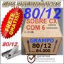 Grampo 80/12 -caixa Fechada Com 84.000 Grampos-frete Gratis