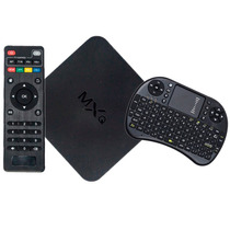 Kit Tv Box Android Mxq Wi-fi + Mini Teclado Wireless