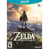 The Legend Of Zelda - Breath Of The Wild - Nintendo - Wii U