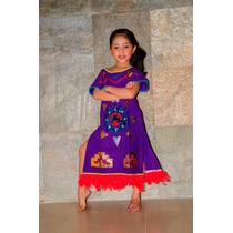 Vestido Traje Tipico De Azteca Regional Tipico Aztecas Velur