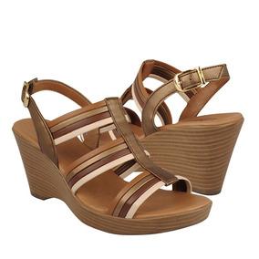 Flexi Zapatos Dama Cuñas 20213 Piel Multicolor