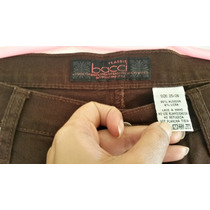 Pantalón Plus Size Marrón Oscuro Bacci Stretch Gorditas