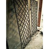 Rejas Puertas, Ventanas Antiguas Frente De Local Vidriados
