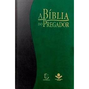 Bíblia Do Pregador Luxo Grande 17x23,5 Revista E Atualizada