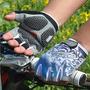 Luva Ciclismo Bike Meio Dedo Com Gel-para Bike Antiderrapant