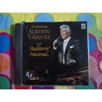 Alberto Vazquez Cd En Concierto En El Auditorio Nacional2004