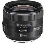 Canon Ef 35 Mm F / 2 Is Lente Gran Angular Usm