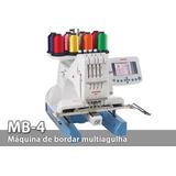Maquina De Bordar Janome Mb-4 Líquido Nueva Embalada
