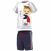 Conjunto Short Playera Originals Mascot Niño Adidas Ak2614