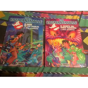 Dos Libros Comics Los Cazafantasmas Multilibro Año 1992