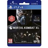 Mortal Kombat Xl Digital Ps4