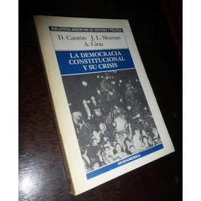 La Democracia Constitucional Y Su Crisis _ Hyspamerica
