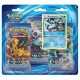 3 Pack Sobres Tarjetas Pokemon Trading Card Evolution Xy