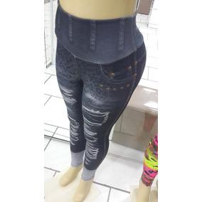 Legging Jeans Marca Marca M Company Preta