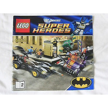 Lego Dc Super Heroes - Solo Instructivo Set. 6864 Libro #2