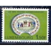 Selo Luxemburgo,bicent.faiança,1,50 F 1967,novo.ver Descr.