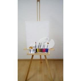 Kit Caballete Dali, Set De Pintura Oleo Arte Artistas