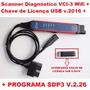 Scania Diagnóstico Vci3 Wifi 2016 + Chave Usb + Treinamento