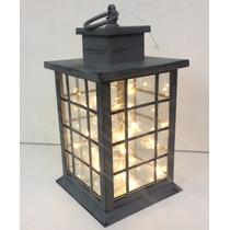 Abajur Luminária De Vidro Led Decoração Colonial - Enfeite