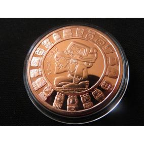 Moneda Onza De Cobre Calendario Maya Fin Del Mundo #12