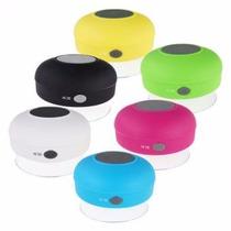 Bluetooth Contra Agua Baño Regadera Recargable Celulares