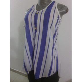 Blusas Chifon Transparente Talla Unica Grande