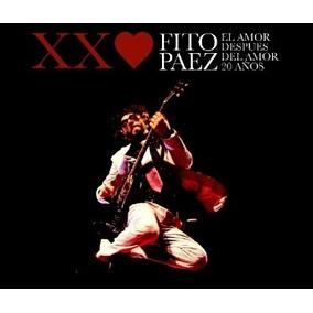 Cd+dvd Fito Paez El Amor Despues Del Amor 20 Años Open Music