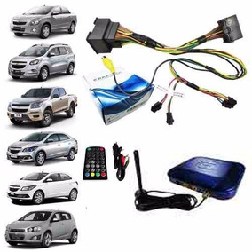 Interface Desbloqueio Tela Mylink Chevrolet + Receptor De Tv
