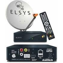 Kit Oi Tv Livre Hd C/ Antena+receptor Etrs35 P Sat Ses6