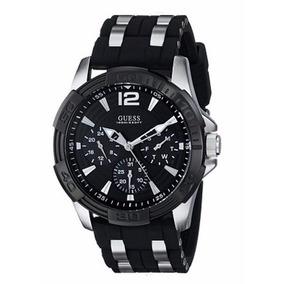 Reloj Guess Hombre U0366g1 Black Multifuncion |watchito|
