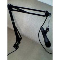 Micrófono Con Jirafa Para Radio Fm Sennheiser 815s