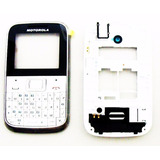 Aro Carcaça Do Celular Motorola Ex109 Ex108 Branca Envio Já